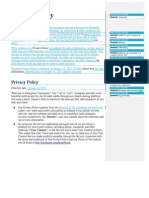 2013-01 Instagram Privacy Policy Revision - Comparison