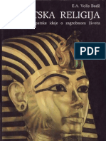 E. A. Volis Badž - Egipatska Religija