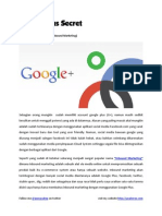 Rahasia Google Plus Untuk Inbound Marketing