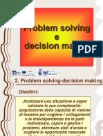 2. Problem Solving e Decision Making