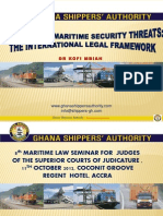 Maritime Security 8th Judges
