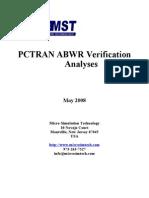 PCTRAN ABWR.DOC