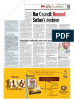 TheSun 2009-02-06 Page04 Bar Council Respect Sultans Decision