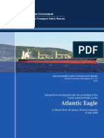 M.V ATLANTIC EAGLE Grounding Investigation Report by ATSB