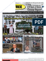The Late December, 2012 edition of Warren County Report