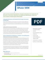 QRadar SIEM von IBM Q1 Labs