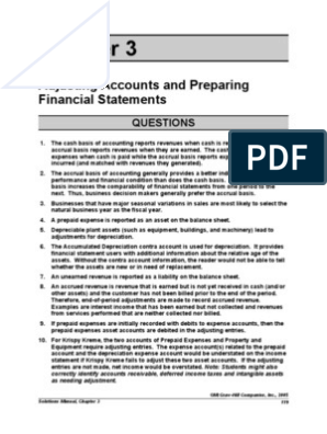 fap chapter 3 solution manual | Debits And Credits | Accrual