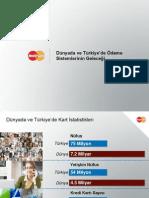 Dünyada ve Türkiye'de Ödeme Sistemlerinin Geleceği