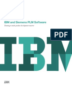 IBM and Siemens PLM Software