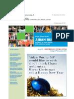 News Bulletin from Aidan Burley MP #52 - CHRISTMAS 2012 SPECIAL EDITION