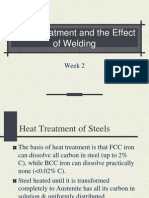 Week 2 Heat Treatment and the Effect of Welding