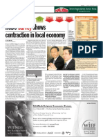 TheSun 2009-02-06 Page16 HSBC Survey Shows Contraction in Local Economy