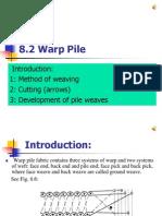 8-2 warp pile
