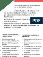 CONSTITUCIÓN. DERECHO Y LIBERTAD DE EDUCACIÓN