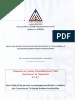 Projet d'EPOC Marseille-Provence 13
