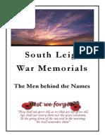 South Leigh War Memorials