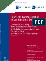 Politische Kommunikation in Der Digitalen Gesellschaft