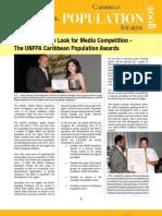 UNFPA Caribbean Population Awards Publication 2008