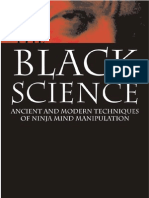 BLACKSPDF the Black Science Ancient and Modern Techniques of Ninja Mind Manipulation Free Sample