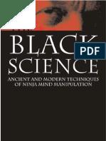 BLACKSPDF the Black Science Ancient and Modern Techniques of Ninja Mind Manipulation Free Sample