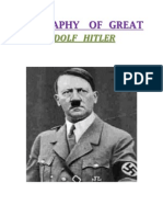 biography of great hitler