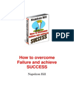 how to over come failure