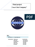 The coca cola company report