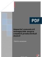 ghid comunicare MANAGERIALA