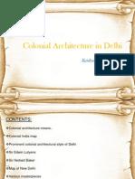colonial architecture in delhi