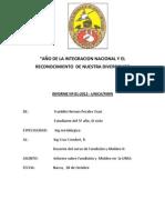 Informe de La UNSA