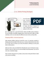 Offline vs Online Pricing Strategies