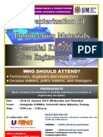 Characterization of Engineering Materials – Essential Knowledge to Solve Engineering Issue Jan 2013