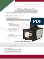 DynaPack Adhesive Supply Unit