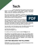 Low Tech PDF