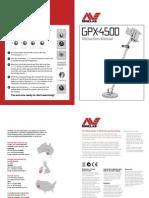 Minelab 4500 User Manual