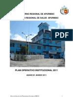 Plan operativo Apurimac 2