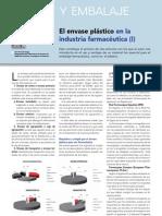 Article El Envase Plastico en La Industria Farmaceacuteutica
