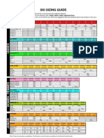 rossignol sizing chart 2012-13