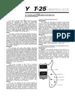 Peaver T25 Manual