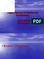 Derivatives Legal Issues