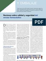 Article Nociones Sobre Calidad y Seguridad Del Envase Farmaceacuteutico