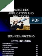 service marketing in hotel industry