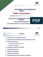 MECANISMO DE ARANQUE DE VIRUTA
