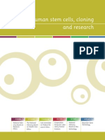 Human Stem Cells Cloning and Research
