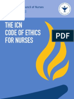 Code of Ethics for Nurses 2012