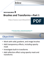 Windows 8 - BrushesAndTransforms