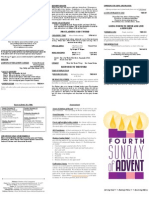 Fourth Sunday of Advent 2012
