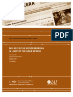 The GCC in the Mediterranean in Light of the Arab Spring