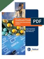 Healthcare Provider Tool Kit Global Global Data Synchronization Network (GDSN)