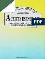 Aromaterapia - Aceites Esencialestexto